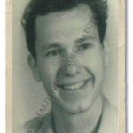 An original photograph of Mr. Pursel from the late 1940s, around the time he knew Marilyn Monroe.