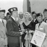 Recognition in Commemoration of Her Unselfish Service Rendered to the Armed Forces in Korea, Presented June, 19, 1954