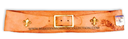 Marilyn-Monroe-Leather-Belt