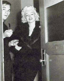 Inside the offices of Marilyn Monroe Productions.