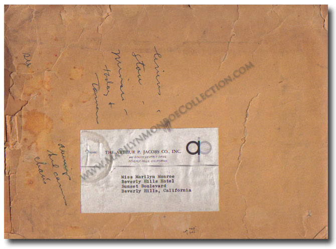 Marilyn-Monroe-Owned-Envelope-Beverly-Hills-Hotel