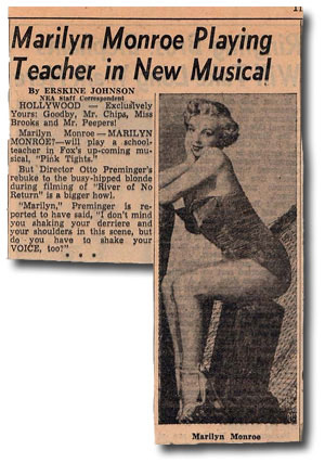 Marilyn-Monroe-Pink-Tights-News-Clip