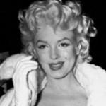 Marilyn wearing the coat.