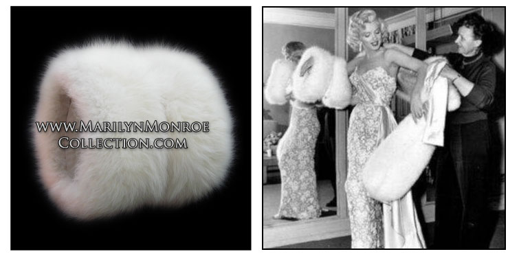 Marilyn-Monroe-White-Fox-Muff