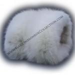 Marilyn Monroe's personal white fox fur muff.