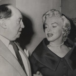 Marilyn Monroe and her attorney Jerry Giesler