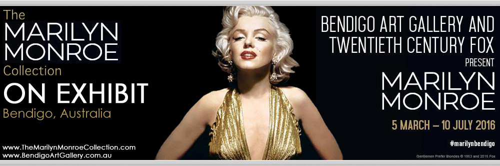 Marilyn-Monroe-Collection-Bendigo-Exhibit