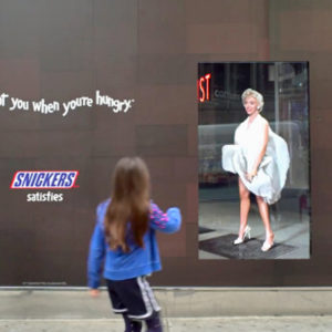 snickers-marilyn-billboard-NYC-Technology