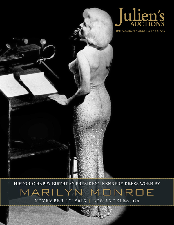 Best Julien us Auctions Historic Marilyn Monroe JFK Dress