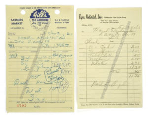 marilyn-monroe-1960-lets-make-love-birthday-party-receipts