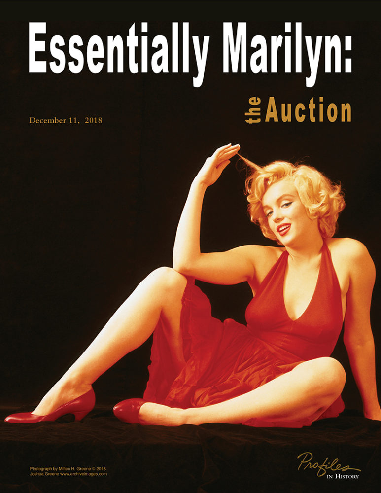 Profiles in History Essentially Marilyn Monroe Auction Flops - The ... 99a8bcf8a8