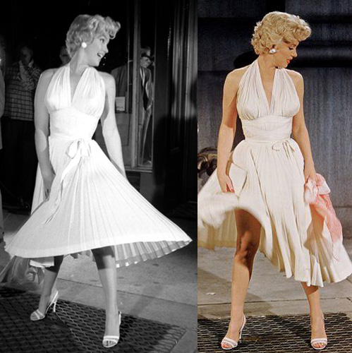 the marilyn monroe seven year itch dress part ii the