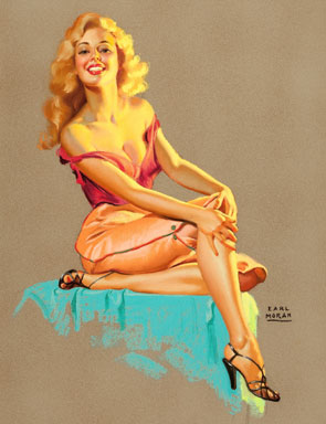 pin up monroe Marilyn