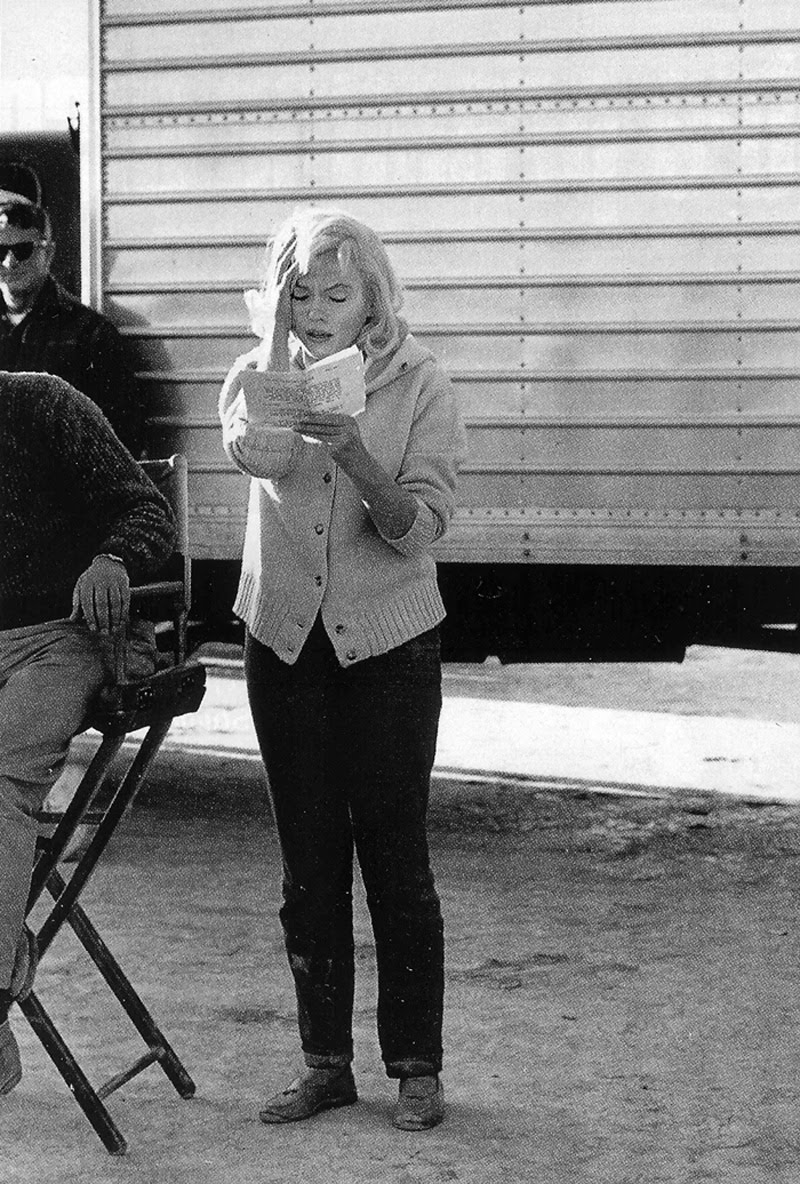 The Misfits Photos From Behind The Scenes The Marilyn