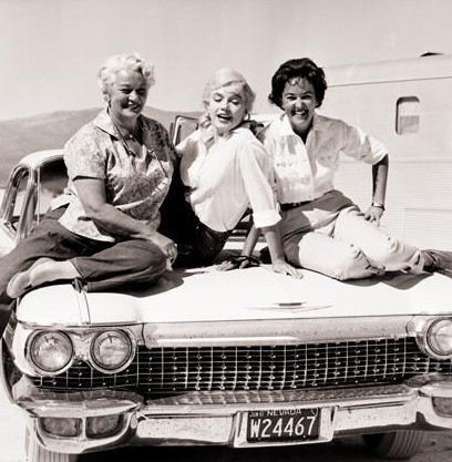 Memorial Day Car Sale >> The Misfits: Photos from Behind the Scenes - The Marilyn ...