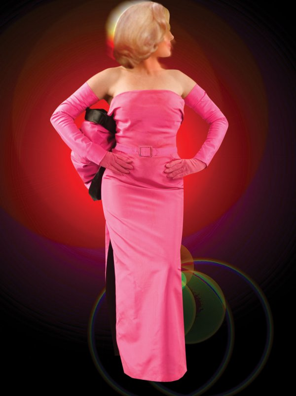 Marilyn Monroe Pink Gown from Gentlemen Prefer Blondes Sells at ...