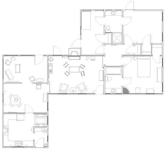 Update marilyn monroe 39 s brentwood hacienda the marilyn for Brentwood floor plan