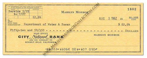 Marilyn-Monroe-August-3-1962-Check