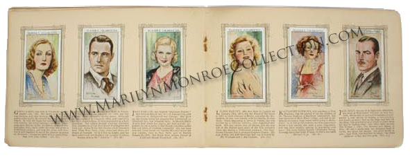 Marilyn-Monroe-Childhood-Owned-Album-of-Film-Stars-2