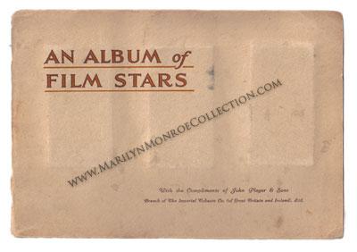 Marilyn-Monroe-Childhood-Owned-Album-of-Film-Stars