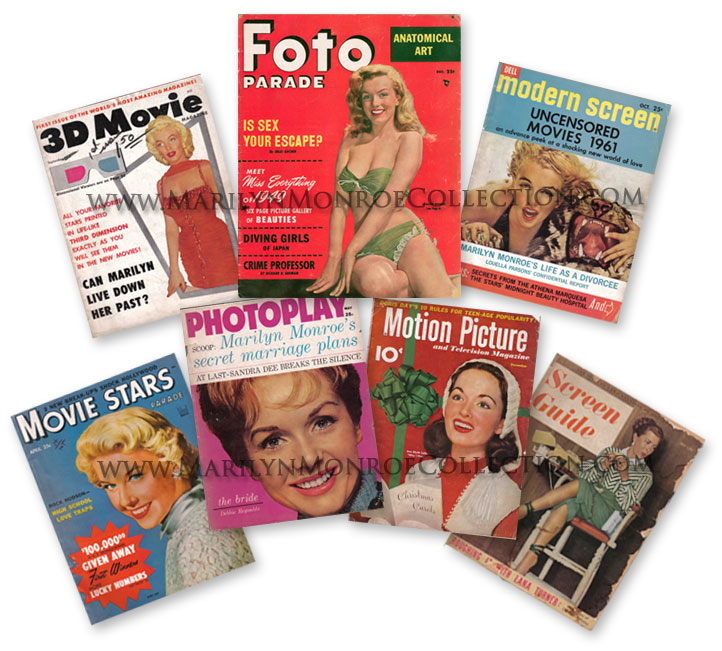 Marilyn-Monroe-Personal-Magazine-Collection