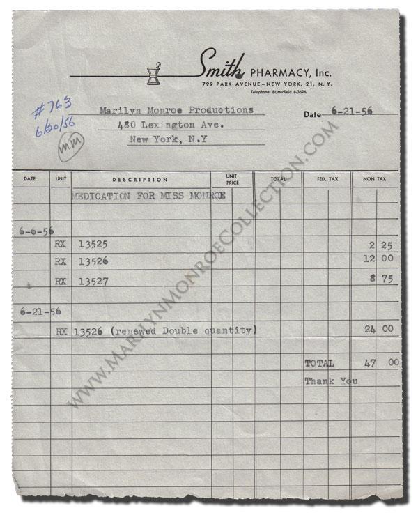 Marilyn-Monroe-Personal-Prescription
