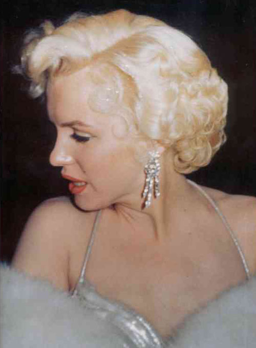 marilyn earrings the personal property of marilyn a pair of 7144