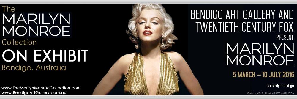 Marilyn-Monroe-Collection-Bendigo-Exhibit