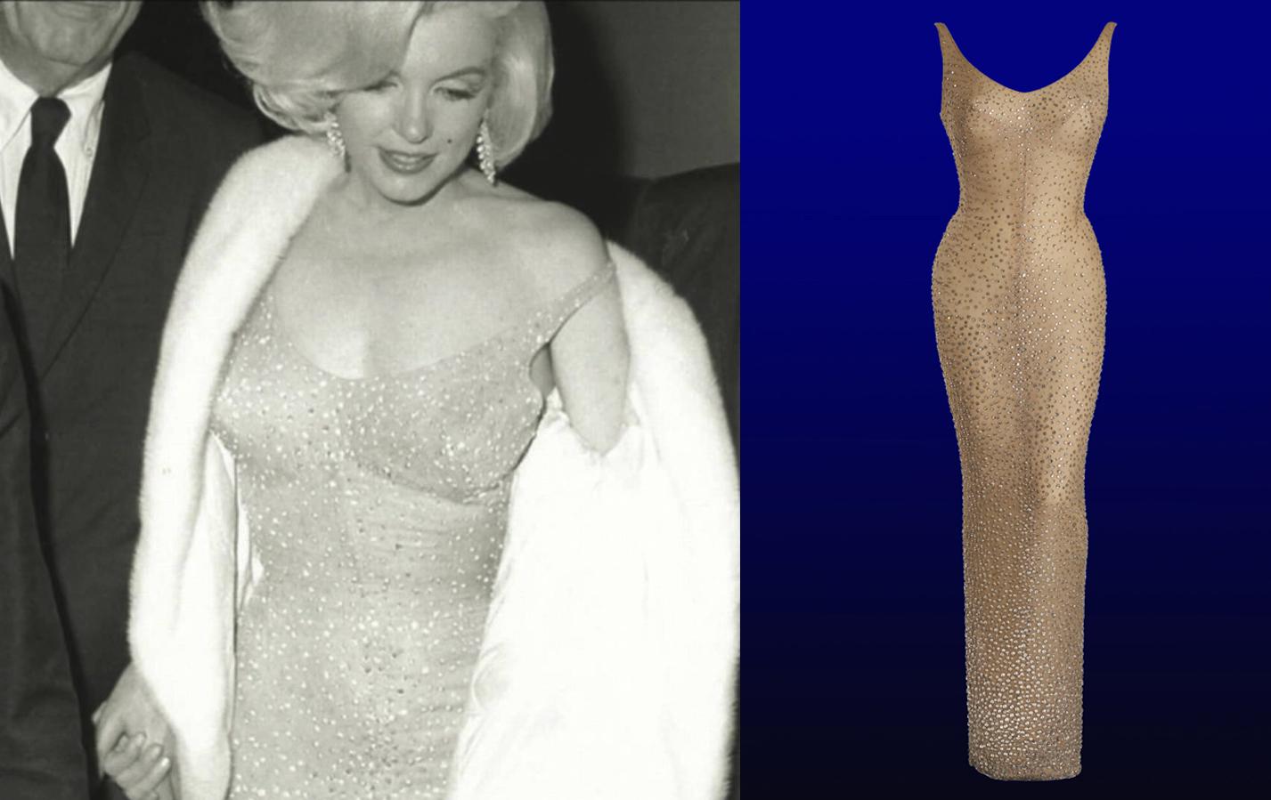 Marilyn Monroes Happy Birthday, Mr. President dress