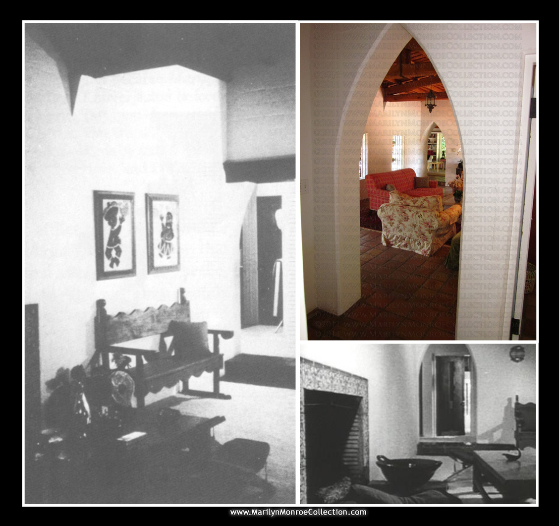 marilyn monroe living room cursum perficio the series part ii the inside of the 11980