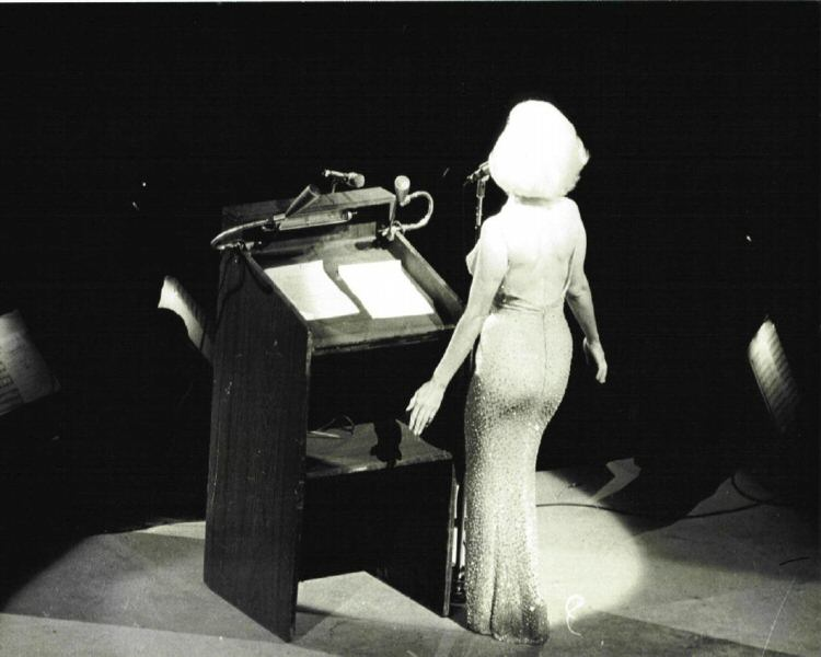 Happy Birthday Jfk Marilyn Planned To Sing It That Way The Marilyn Monroe Collection